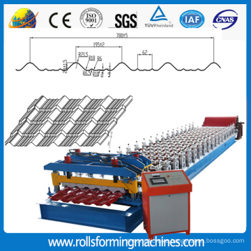 780 glazed tile roof panel forming roll forming machine