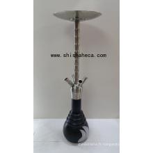 Nouveau Narguilé Shisha Nargile en acier inoxydable de qualité supérieure Narguilé Pipe