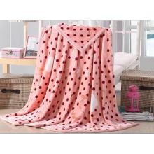100% Polyester Flannel Fleece Blanket