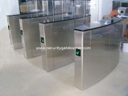 Optical Turnstiles With Access Control System, Single And Bi-direction Control For Station