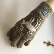 Factory Majored hacer guantes de punto de acrílico