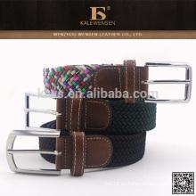 Profesional mejor venta de nuevos productos calientes para 2015 auténticos cinturones de lona personalizada