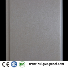 Panneau en PVC laminé plat Panneau mural en PVC de plafond en PVC de 20 cm 8 mm