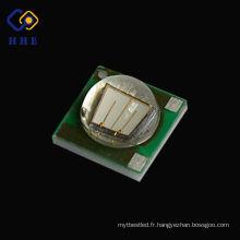 Nouveau type haute puissance plus petit SMD 3W 3535 385nm uv led