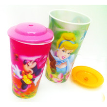 Promotional Gift 3D Lenticular Plastic Cup for Drinking