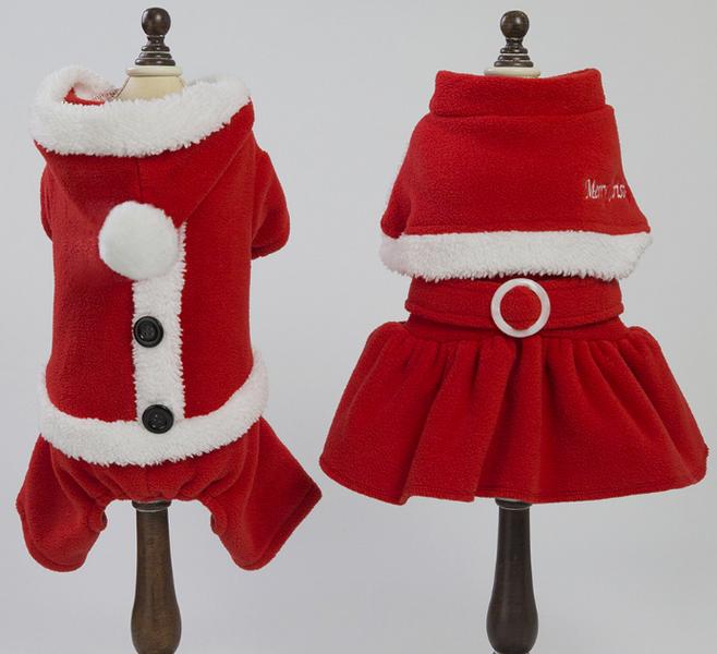 Christmas Design Pet Clothes