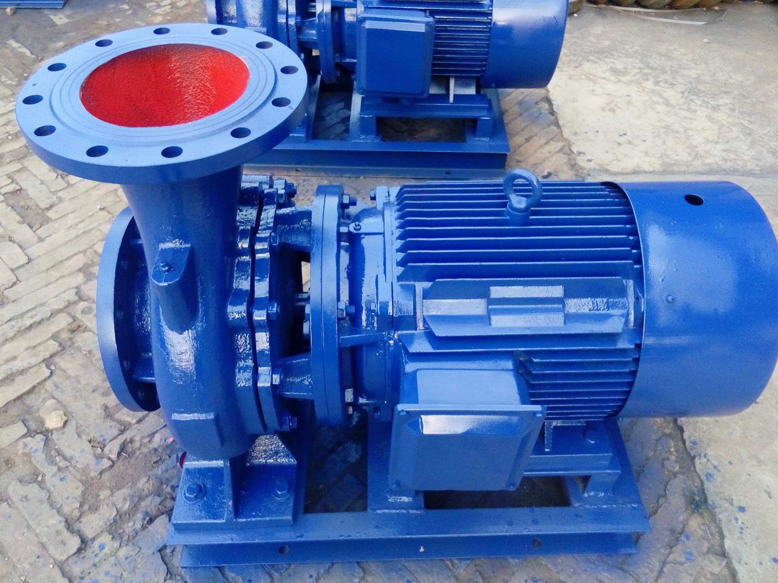 IHZ type corrosion resistant chemical pump 2