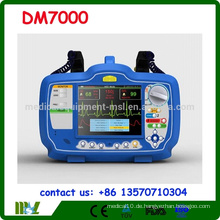 CE, ISO Approved Biphasic Defibrillator Monitor DM7000 mit SPO2 EKG und NIBP