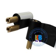 Fita de transferência térmica lavável da transferência térmica da etiqueta de código de barras de matéria têxtil