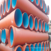 K9 DN80mm to DN2000mm dci pipe di pipe ductile cast iron pipe for water system