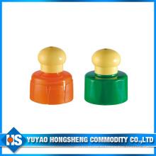 Доставка воды печати Китай Поставщики бутылки Cap Push Pull