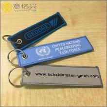 الاتحاد الأوروبي القياسية شعار الطباعة قصيرة مطرزة المفاتيح
