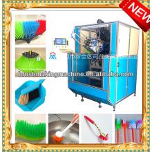 Máquina de tufagem da escova do cnc de 5 linhas centrais