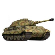 1/24 Escala de plástico Kingtiger infravermelho RC Tank