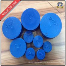 Protecteurs d'extrémité de tuyau rond de LDPE assurés par qualité (YZF-H89)