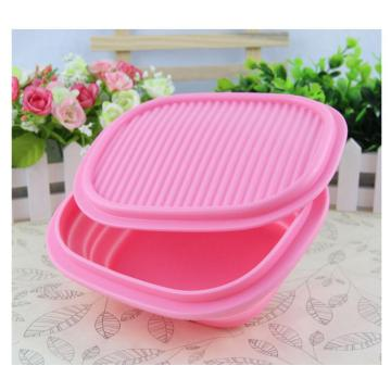 Travel Kit Outdoor dilipat dilipat Silicone Dog Bowl