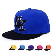 Art und Weise gestickte fördernde Baumwollbaseball-Sport-Hip-Hop-Hüte (YKY3355)