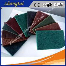 Almofada de limpeza material do carboneto de silicone / carboneto de silício para o uso da limpeza da cozinha