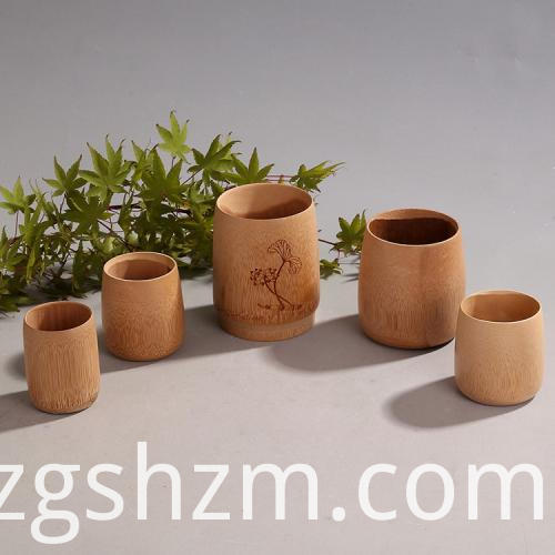 Bamboo Thermal Cup