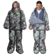 Lightweight Camping Hiking Human Shape Mummy Sleeping Bag