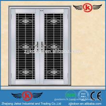 JK-SS9007 design de porte filet / porte double-porte commerciale / porte de sécurité en acier