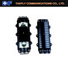 Fechamento de emenda em fibra óptica ou em linha