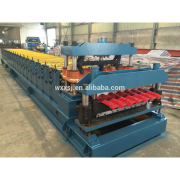 high quality metal tile roll forming machine