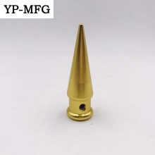 Manufacturing Golden Anodized Cnc Machining Aluminum Parts