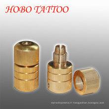 22 * 50mm Machine en laiton Self-Lock Tattoo Grips Cartridge Supplies