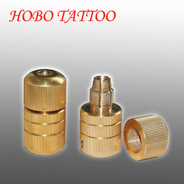 22 * 50mm bronze máquina autofechamento Tattoo apertos cartucho suprimentos