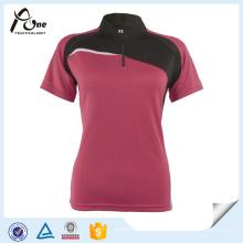 Damen, die T-Shirt-Großhandelsfrauen-Sportkleidung laufen lassen