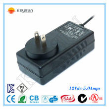 fiber optic christmas tree power supply 12v 5a power adapter 12 volt 5 amp ac dc adapter