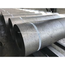 Eletrodos de grafite HP UHP 350 mm de ultra alta potência