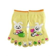 Chaussettes à pied mignon