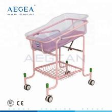 AG-CB010 erweiterte ABS-Fach mit Matratze verstellbare Krankenhaus Babywiegen Bett zum Verkauf
