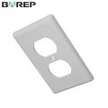 YGC-010 diseño profesional impermeables tapas de interruptor de luz de baño