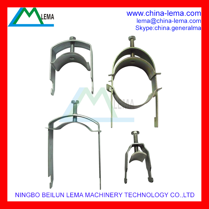 Steel stamping part for cable clamp