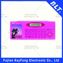 10 Digits Stationery Box with Calculator (BT-919) Need Edit Photo