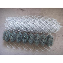 Hot-Dipped Galvanized Iron Wire Mesh Chain Link Fence Parts (anjia-190)