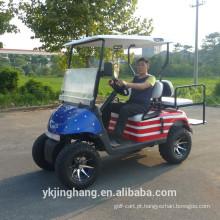 fora dos carros de golfe a pilhas da bateria / carro de golfe a pilhas de 4 seaters para venda