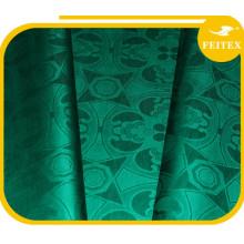 Material africano de la tela del bordado Abaya del telar jacquar de la ropa al por mayor para el vestido de boda 2016