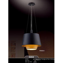 Hot Sales Fabric Lamp Shade Modern E27 Pendant Lamps (P6404-1)