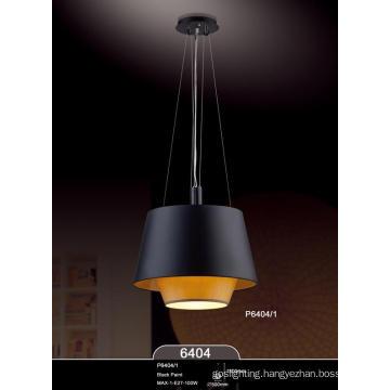Hot Sales Fabric Lamp Shade Modern E27 Pendant Lamps (P6404-1)