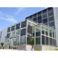 Blueusn Poly transparentes Solarpanel 200W 250W 300W 350W für BIPV-Preis Amerika