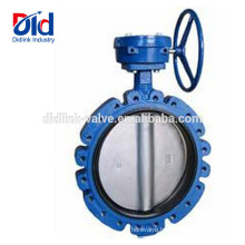 Standard Api 609 Split Centric Pneumatic Control Cast Iron Full Bore Butterfly Valve 10 Inch