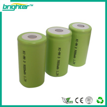 wholesalers china 1.2v nimh battery with d size battery