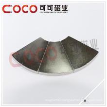 Arc Segment Neodymium Motor Magnets