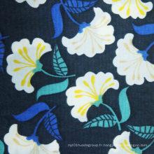 Oxford 420d Printing Nylon Crinkle Fabric avec revêtement en PU (XQ-427)