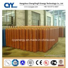 Cylindre de gaz en acier au dioxyde de carbone à haute teneur en oxygène à 30L d'oxygène à haute teneur