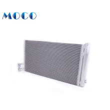 Universal vertical air conditioner condenser coil